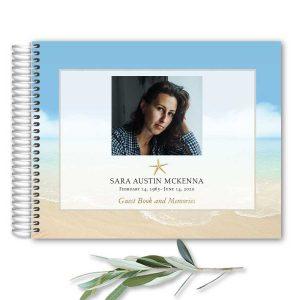 Unique Funeral Guest Book Ideas