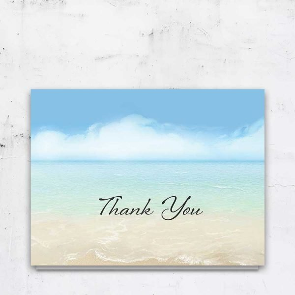 Funeral Thank You Card Personalized
