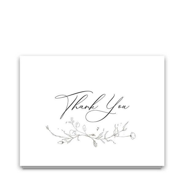 Memorial Thank You Note for Funeral Assistance