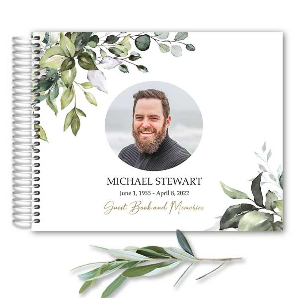 Funeral Guest Books Life Celebration