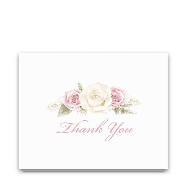 Printable Thank You Card Templates Celebration of Life