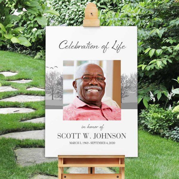 Celebration of Life Decor Welcome Sign Printable File