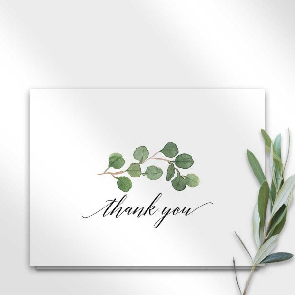 Elegant Thank You Cards For Bereavement and Funerals