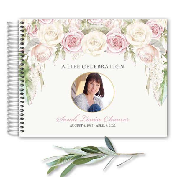Guest Books For Funeral Celebration of Life
