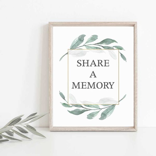 Funeral Memorial Table Ideas Share a Favorite Memory