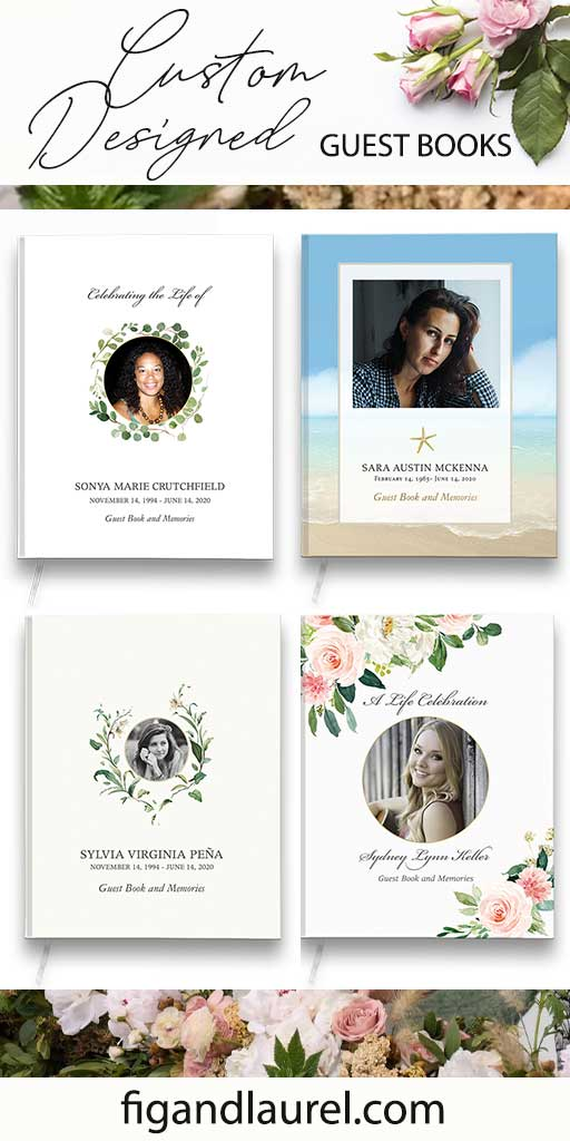 Do you need a Funeral Guest Book for a Celebration of Life?
