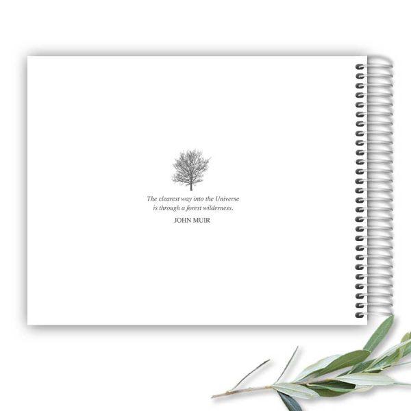 Custom Funeral Guest Book