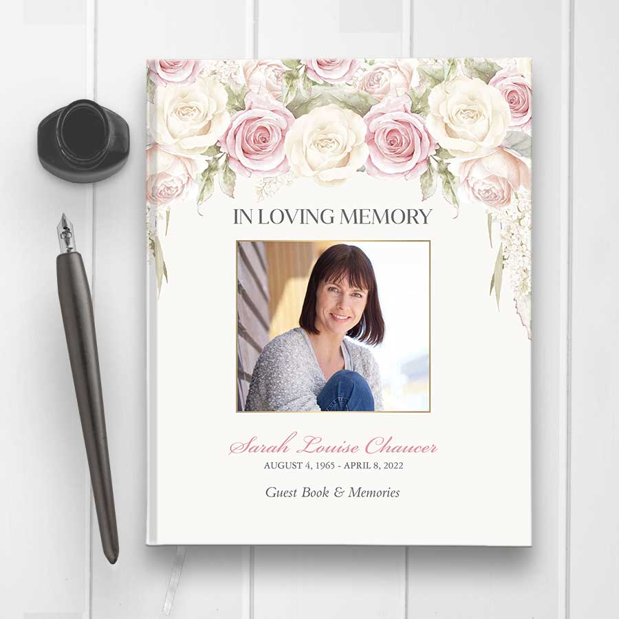 Guest Book For Funeral