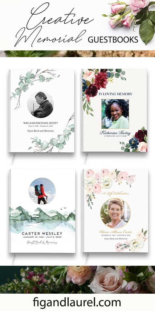 Celebration of Life Guestbooks