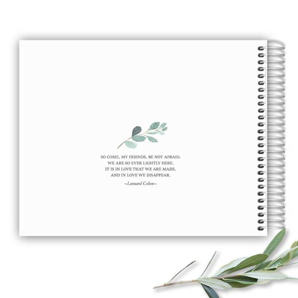 Funeral Sign in Guest Books for A Life Celebration