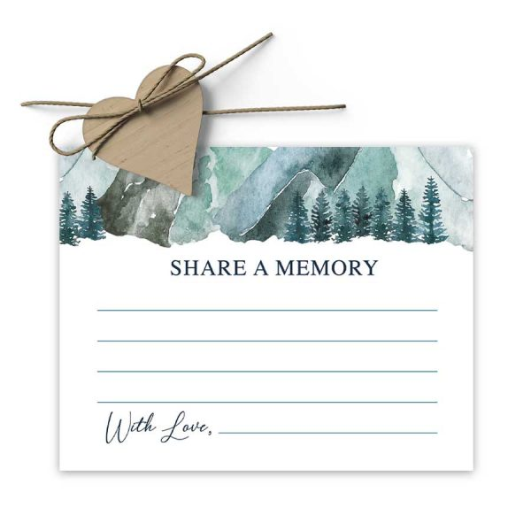 Share A Memory Cards Mountain Design