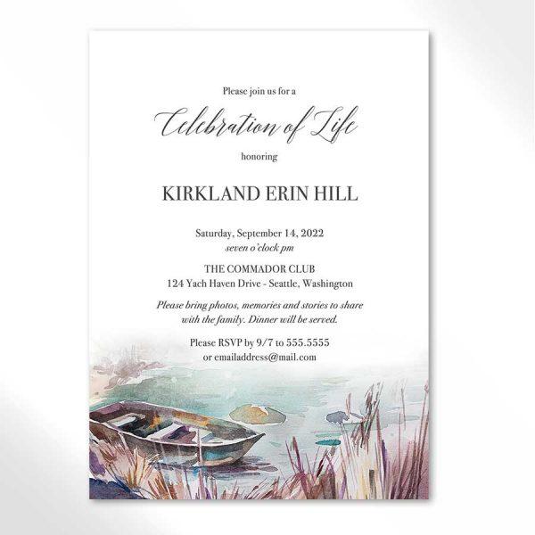 Celebration of Life Invite Template