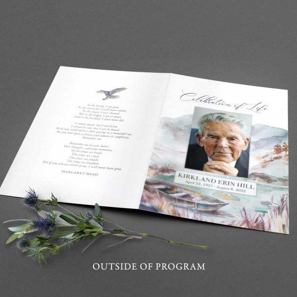 Customized Funeral Program Template