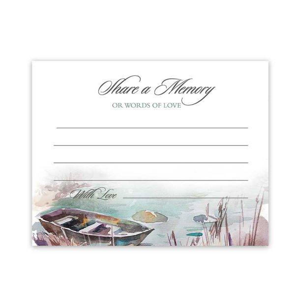 Celebration of Life Ideas Memory Cards
