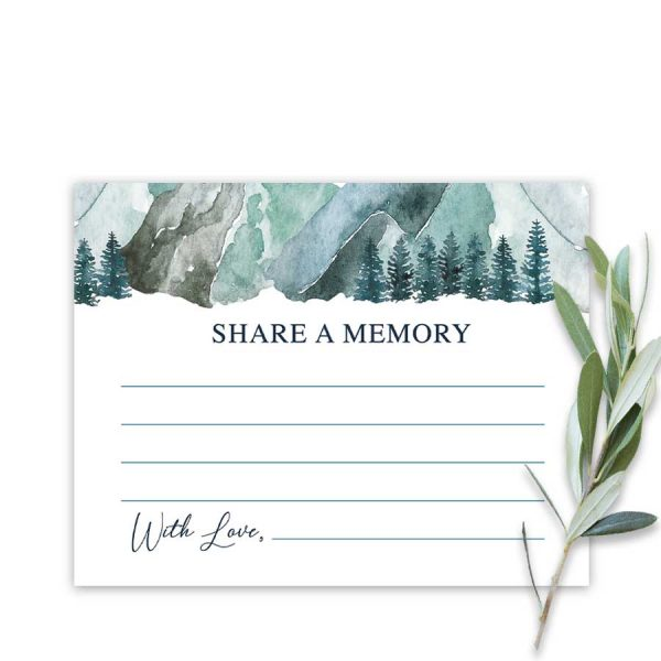Funeral Share A Memory Card Mountain