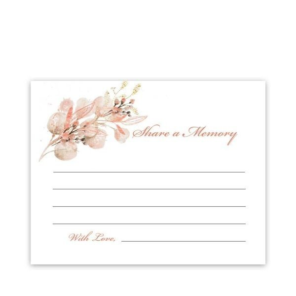 Celebration of Life Memory Cards
