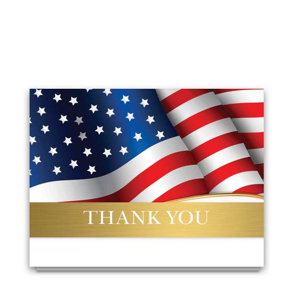 Military Veteran Sympathy Cards Thank You Notes