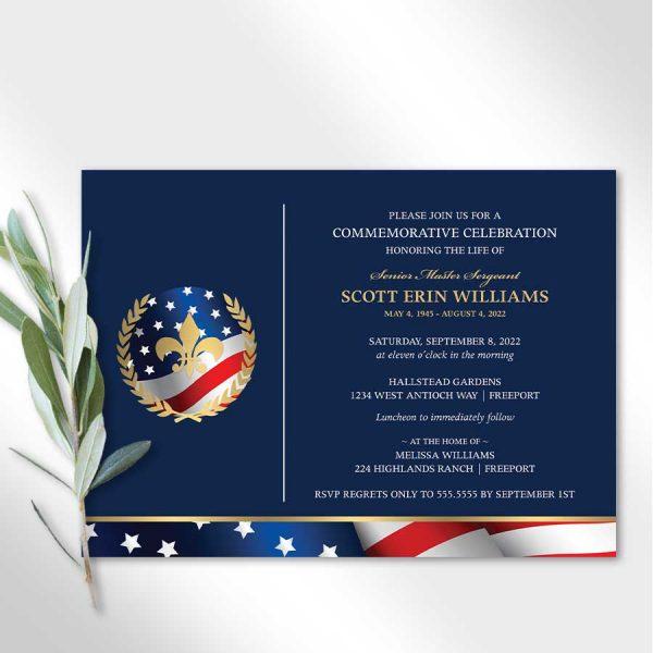 Military Veteran Memorial Announcement