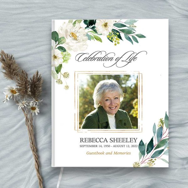 Funeral Guest Books Photo Keepsake