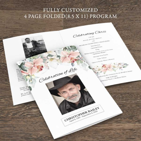 A Life Celebration Program Outline Customized