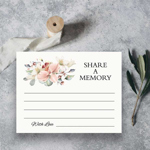 Favorite Memory Cards For Funerals