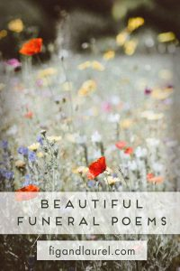 Poems for Funerals and Life Celebrations