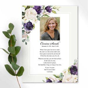 Beautiful Funeral Poems For Memorials